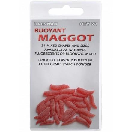 Drennan Buoyant maggot sztuczny robak czerwony