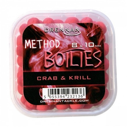 Drennan Kulki Method Boilies 8/10mm Crab&Krill