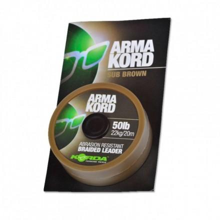 KORDA Arma-Kord braided Leader 50LB 20m strzałowa