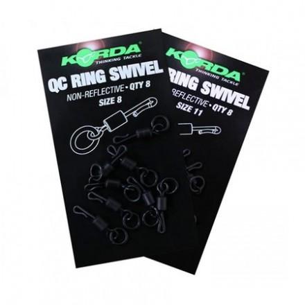 KORDA Kwik Change Swivel size 8 Ring krętlik szybkiej wymiany
