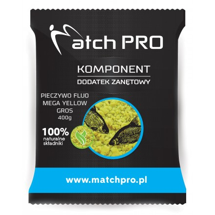 MatchPro Pieczywo TOP FLUO MEGA YELLOW Gros 400g