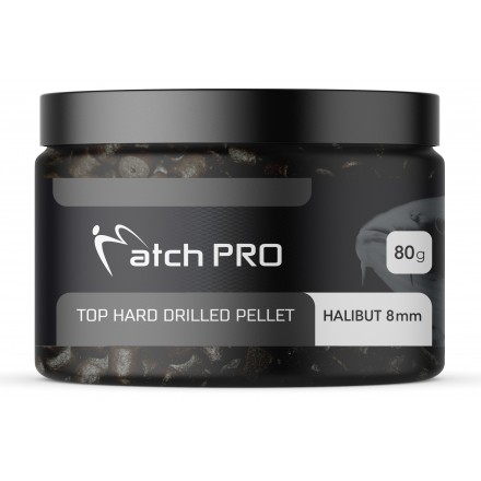 MatchPRO Top Hard Drilled Pellet Halibut 8mm 80g