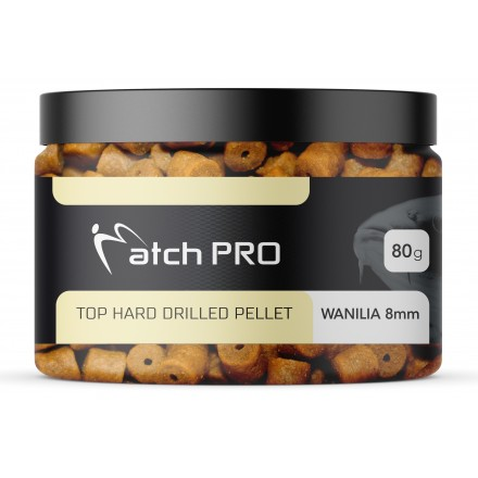 MatchPRO Top Hard Drilled Pellet Wanilia 8mm 80g