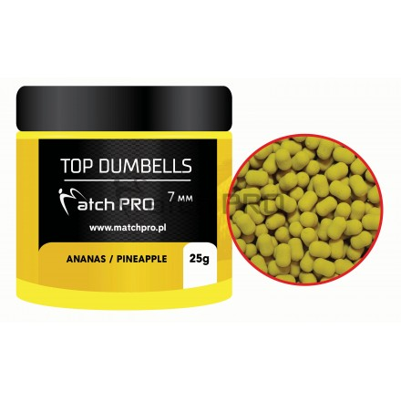 Match Pro Top Dumbells Pineapple 7mm/25g