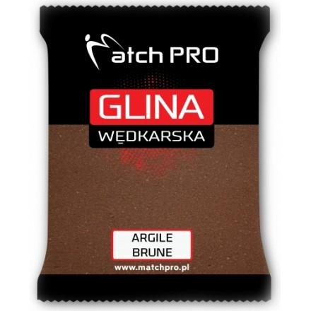 MatchPro Glina Argile Brązowa Brune 2kg