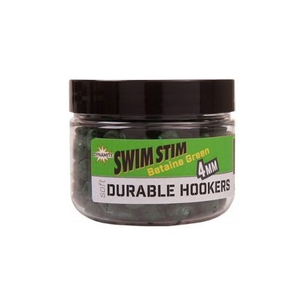 Dynamite Baits Soft Durable Hookers 6mm Betaine Green