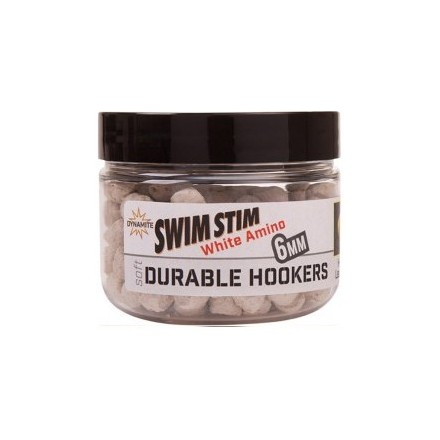 Dynamite Baits Soft Durable Hook 6mm White Amino