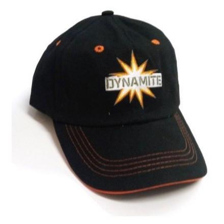 Dynamite Baits czarna CZAPKA daszek uniwersalna