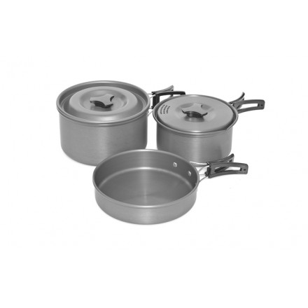 Trakker Armolife Three-Piece Cookware Set