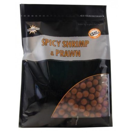 Dynamite Baits Kulki Spicy Shrimp Prawn 12mm 1kg