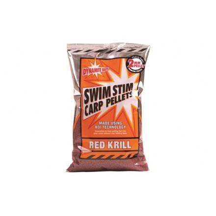 Dynamite Red Krill Swim Stim Carp Pellets 2mm 900g