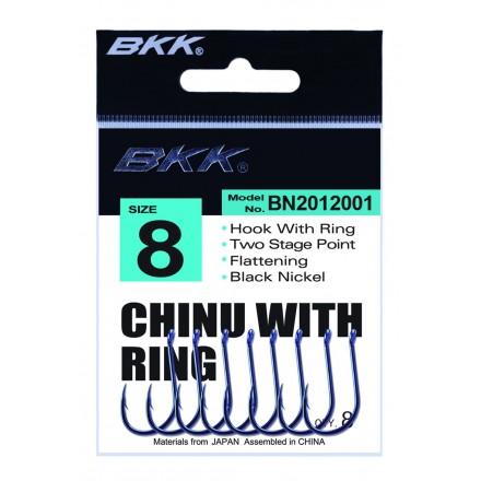 BKK Haczyk Chinu With Ring nr.2 8szt