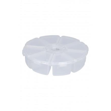 MIKADO Pudełko na Drobne Akcesoria Okrągłe 10,5cm