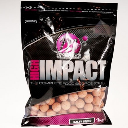 MAINLINE High Impact Salty Squid Boilies 16mm 1kg