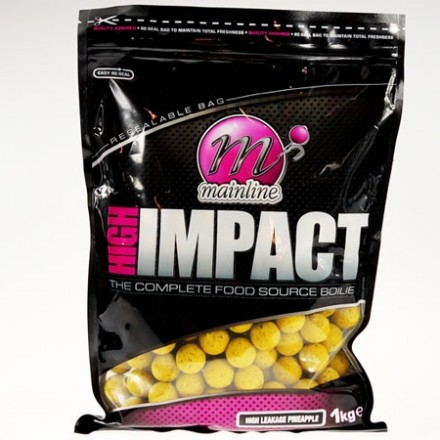 MAINLINE High Impact H/L Ananas Boilies 15mm 1kg