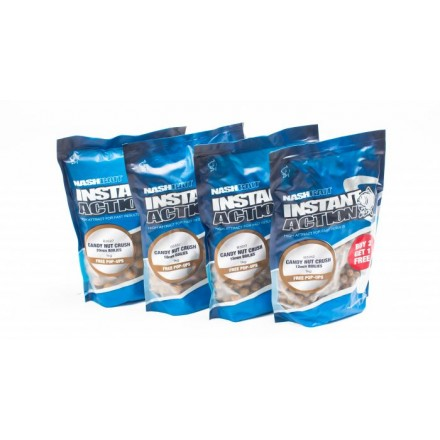 Nash Instant Action Candy Nut Crush Boilies 18 1kg