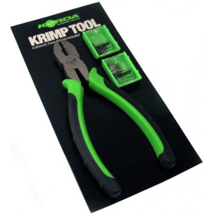 Korda Krimp Tool Szczypce zaciskowe S-0,6mm L-0,7