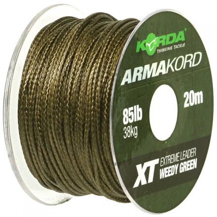 KORDA ArmaKord XT 85LB/38kg 20m Weedy Green
