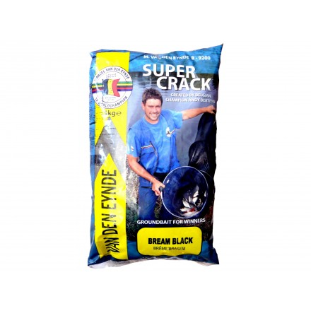 Marcel Van Den Eynde – zanęta Super Crack Bream 1kg Black