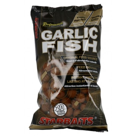 STARBAITS Concept kulki Garlic Fish 10mm 1kg
