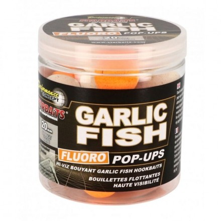 STARBAITS Concept fluoro POP UPS Garlic Fish 10mm