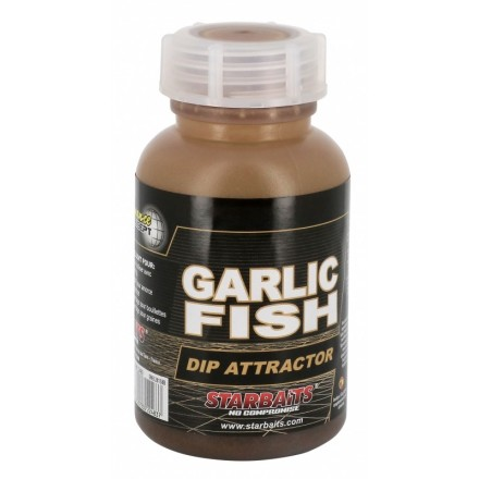STARBAITS dip Attractor Garlic Fish 200ml