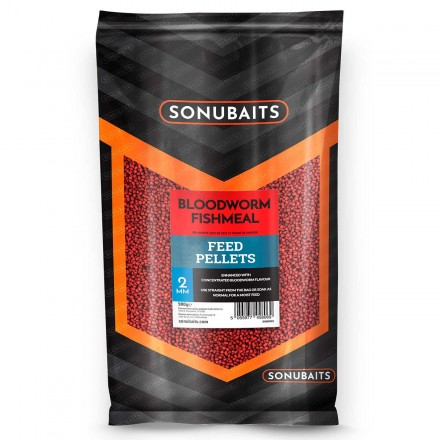 Sonubaits Feed Pellets 4mm - Bloodworm // Ochotka