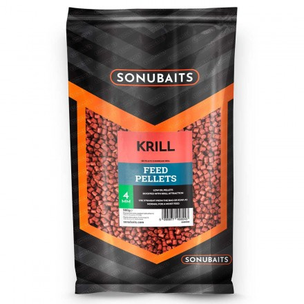 Sonubaits Feed Pellets 4mm - Krill // Krylowy
