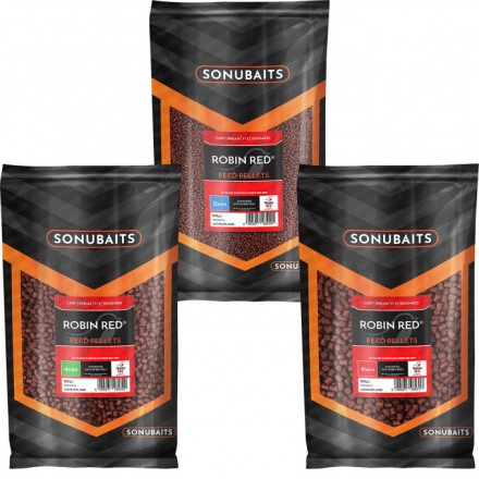 Sonubaits Feed Pellets 2mm Robin Red 900g