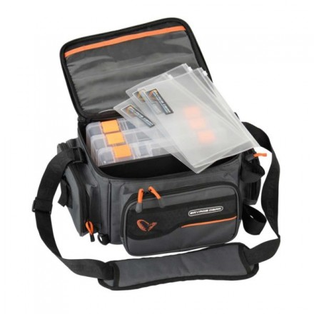 Savage Gear System box bag S 3 box & PP bags