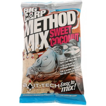 Bait-Tech Zanęta Big Carp Method Mix Sweet Coconut 2kg