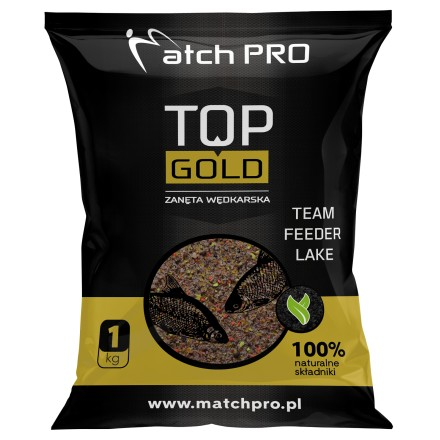 MatchPro Top Gold Team Feeder Lake Zanęta 1kg
