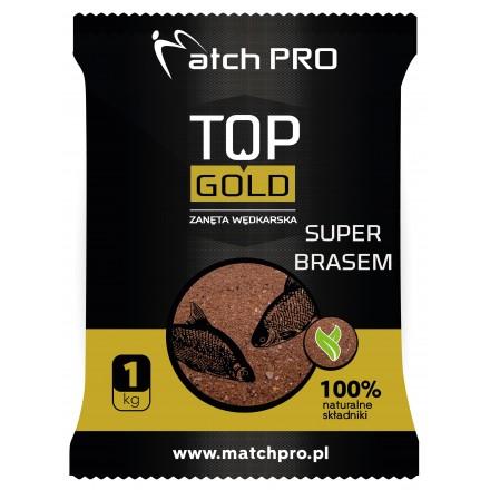 MatchPro Top Gold Super Brasem Zanęta 1kg