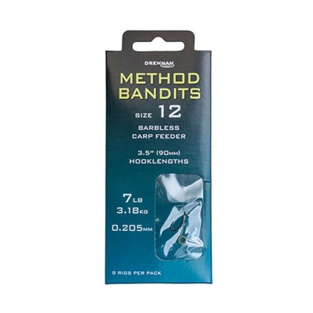Drennan BANDIT Carp Feeder Przypony nr 14 0,205mm