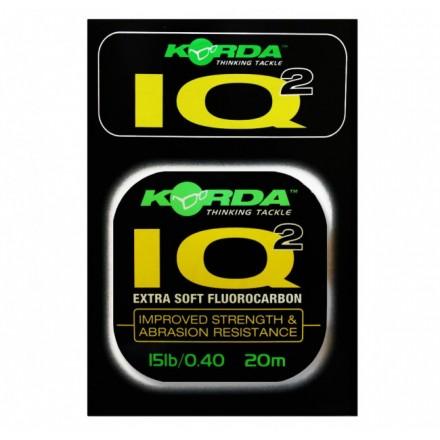 Korda IQ2 Extra Soft Fluorocarbon Hooklink 15LB