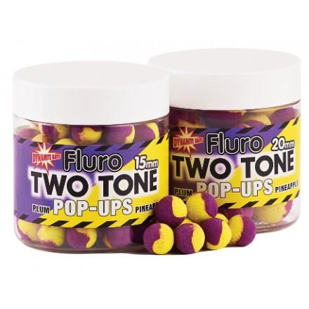 Dynamite Fluro POPUP two tones Plum Pineapple 15mm
