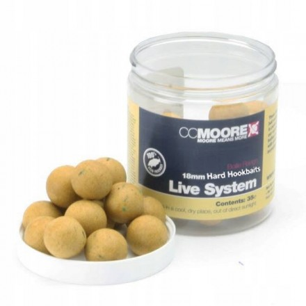 CC MOORE - Live System Hard Hookbaits 24mm